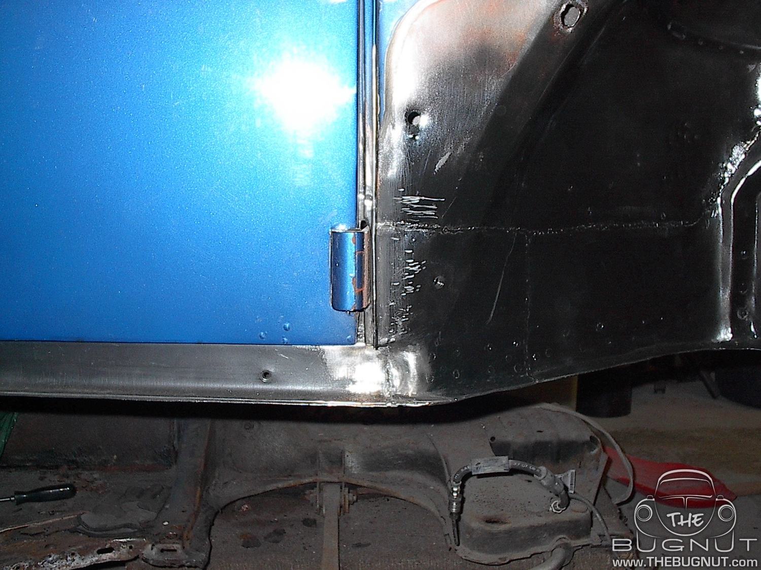 1971 VW Super Beetle Lower Door Post