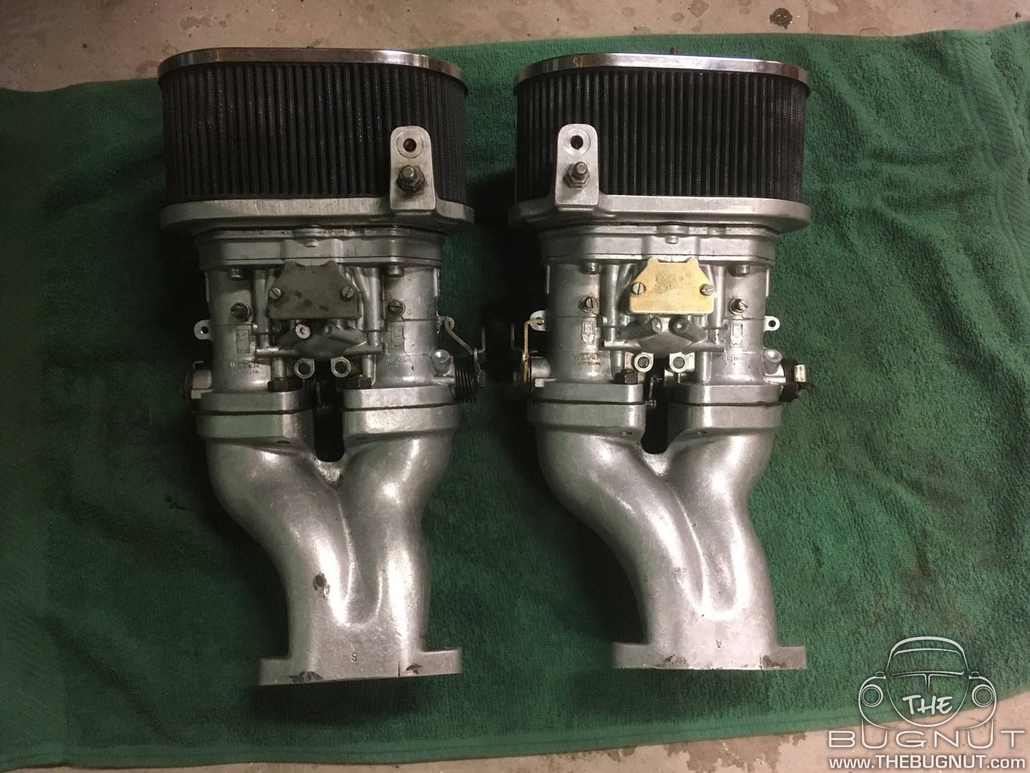 Dual Webber Carburetors for VW Beetle