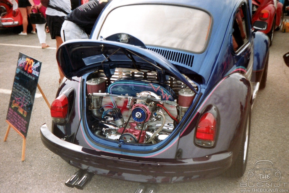 Dual Carburetors on VW Beetle